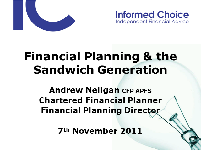 Financial Planning and the Sandwich Generation