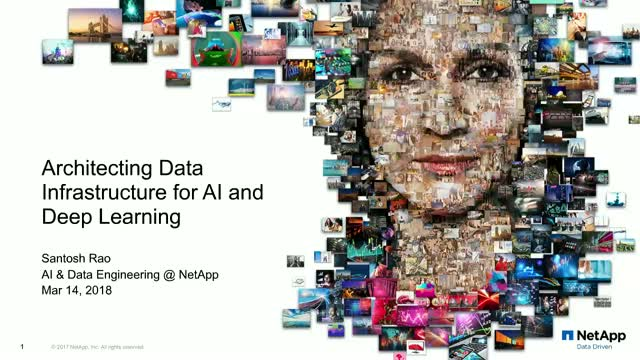 Architecting a Complete Data Infrastructure for AI and Deep Learning