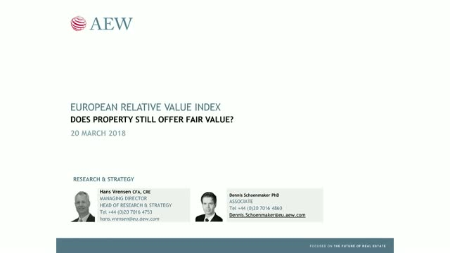 AEW's European Relative Value Index