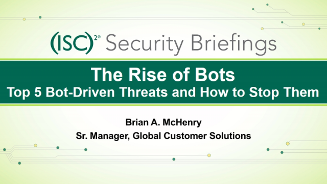 F5 (Pt. 3): The Rise of Bots: Top 5 Bot Driven Threats & How to Stop Them