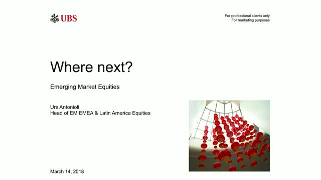 Emerging market equities: Where next?
