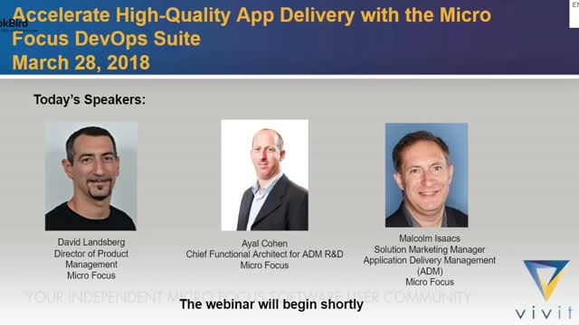 Accelerate High-Quality App Delivery with the Micro Focus DevOps Suite