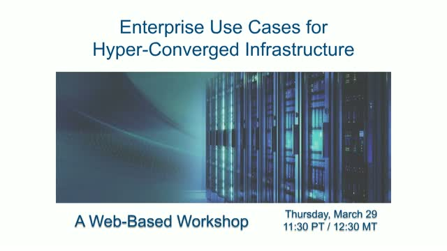 HCI in the Enterprise | Key Use Cases