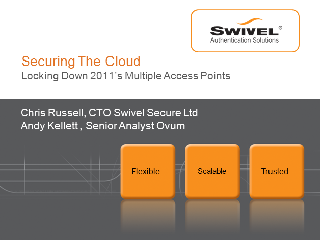 Securing The Cloud; Locking Down 2011's Multiple Access Points