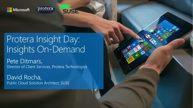 SAP on Azure | Insights On-Demand with Protera