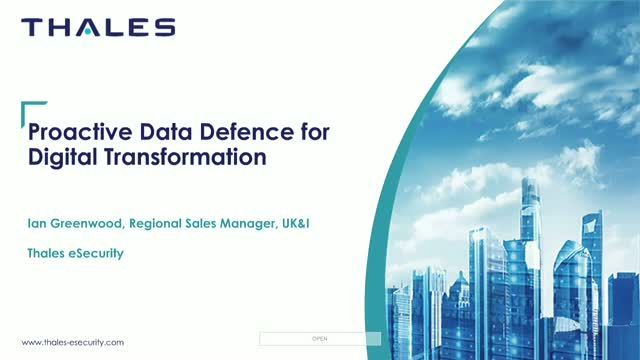 Proactive Data Defence for Digital Transformation