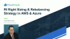RI Right Sizing and Rebalancing Strategy in AWS and Azure