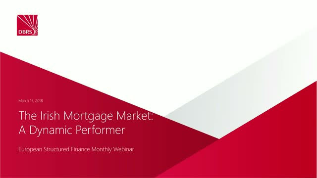 DBRS Hosts Webinar on Irish Mortgage Market