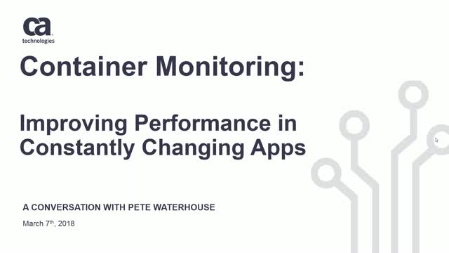 Improving Performance in Constantly Changing Applications