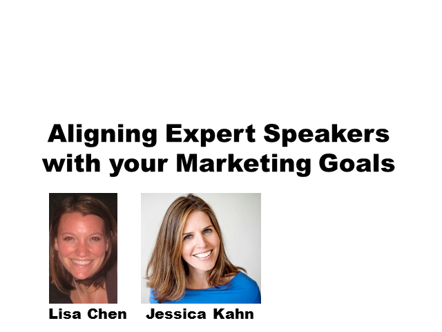 Aligning Expert Speakers with Your Marketing Goals