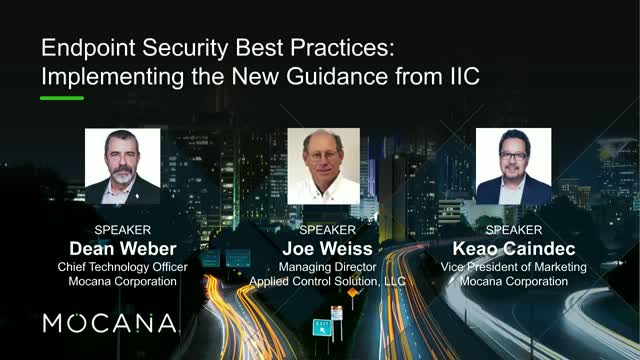 Endpoint Security Best Practices: Implementing the New Guidance from IIC