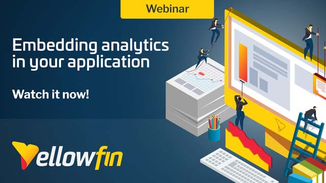 Embedding Analytics in your Application