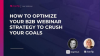 How to Optimize Your B2B Webinar Strategy to Crush Your Goals