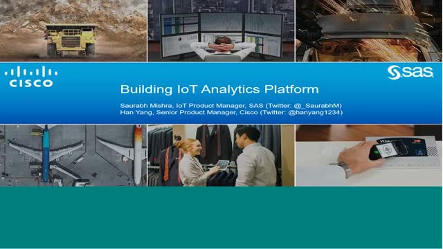 Cisco and SAS: Working Together to Answer Your IoT Ecosystem Questions OnDemand