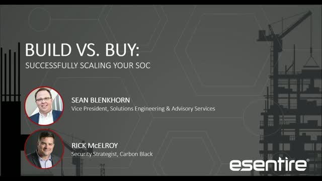 Build vs. Buy: Which SOC Solution is Right for You?