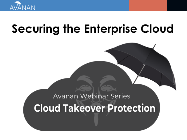 Cloud Account Takeover | Securing the Enterprise Cloud