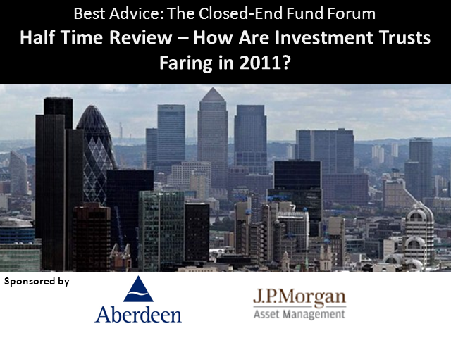 Half Time Review – How Are Investment Trusts Faring in 2011?