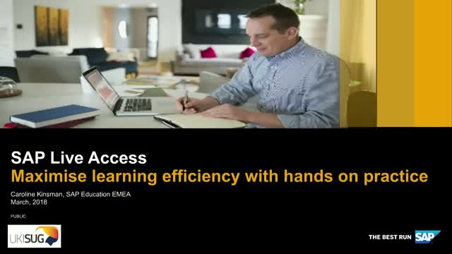 SAP Live Access – Practice with your own SAP Training System