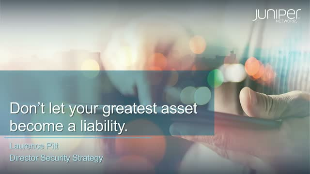 Data: Don't Let Your Greatest Asset Become a Liability