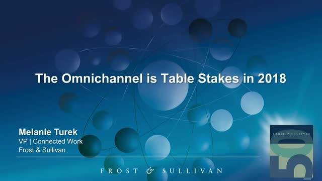 The Omnichannel is Table Stakes in 2018