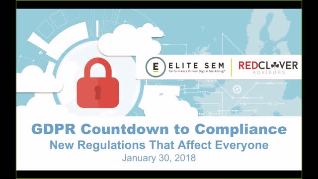 GDPR Countdown to Compliance: New Regulations That Affect Everyone