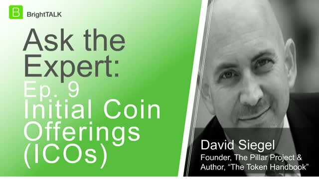 [Ep.9] Ask the Expert: Initial Coin Offerings (ICOs)