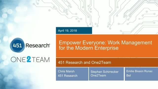 Empower Everyone: Work Management for the Modern Enterprise