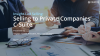 Insight-Led Selling: Selling at Private Companies' C-Suite