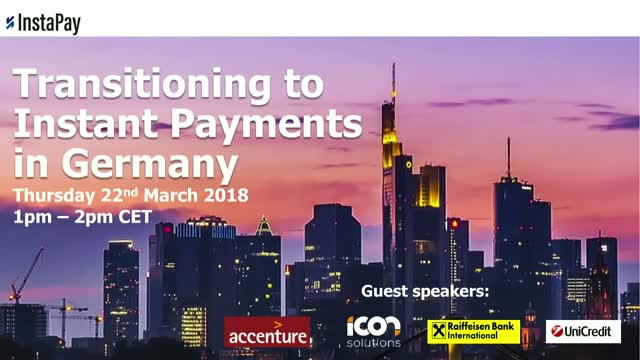 Webinar: Transitioning to Instant Payments in Germany