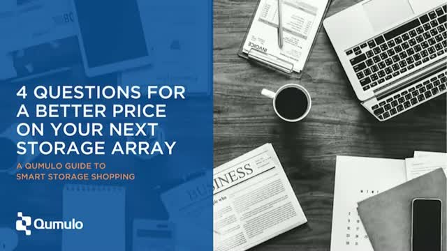 4 Questions for a better price on your next storage array