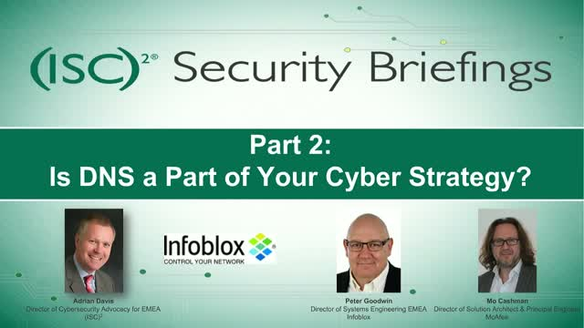 Part 2: Is DNS a Part of Your Cyber Strategy?