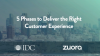 5 Phases to Deliver the Right Customer Experience