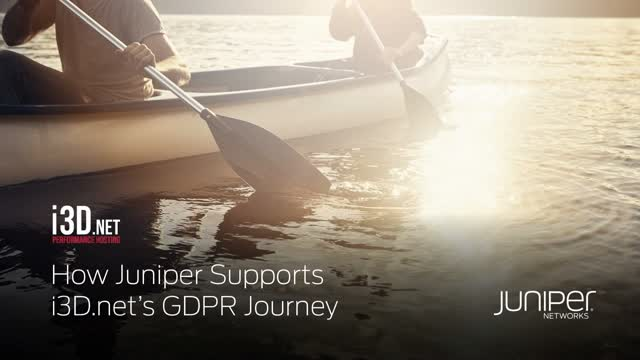 How Juniper Supports i3D.net's GDPR Journey