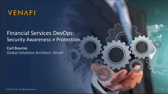 Financial Services DevOps: Security Awareness Doesn't Equal Protection