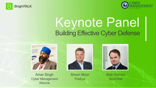 [Panel] Building Effective Cyber Defense