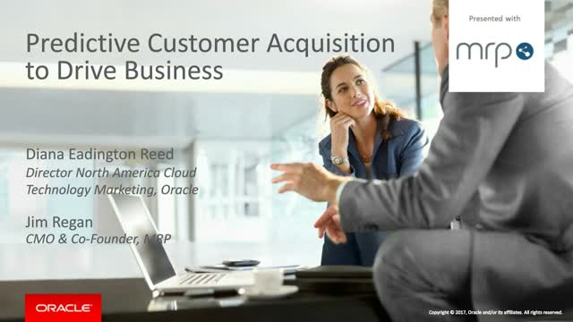 Discover how Oracle Uses Predictive Analytics to Drive Business