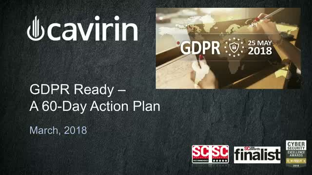 GDPR – An Action Plan to Address the New Regulation