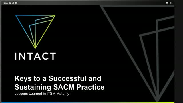ITOps SIG Talk Ep. 3:  Areas of Focus to Create a Successful SACM Practice