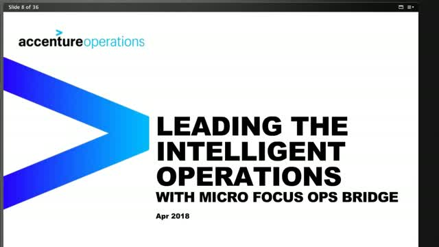 ITOps SIG Talk Ep. 4: Intelligent Operations with Micro Focus OpsBridge