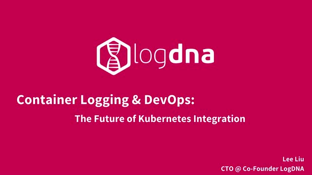 Container Logging & DevOps: The Future of Kubernetes Integration
