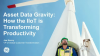 Asset Data Gravity: How the IIoT is Transforming Productivity