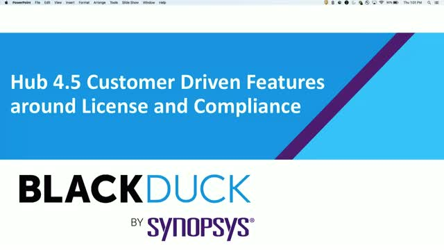 Hub 4.5: Customer Driven Features around License and Compliance