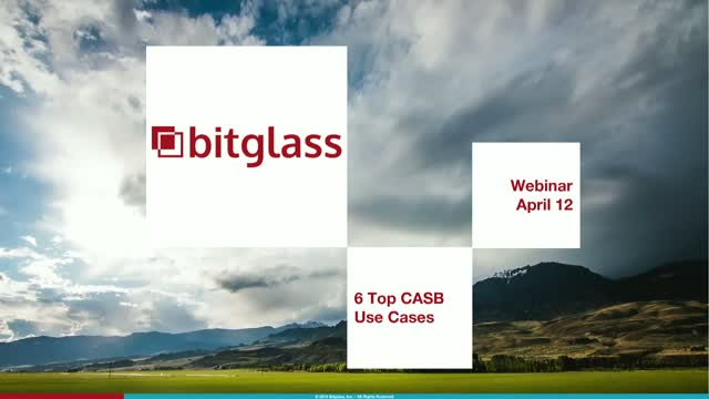 Webinar Express: 6 Top CASB Use Cases