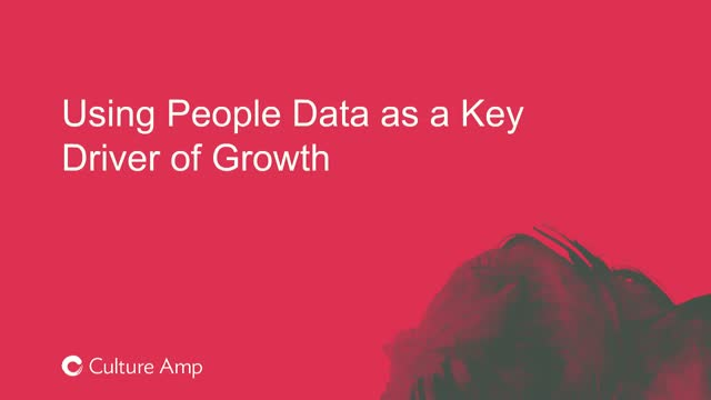 Using people data as a key driver of growth
