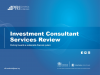 Investment Consultants: The Final Frontier for Socially Responsible Investment