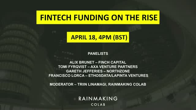FinTech Funding on the Rise