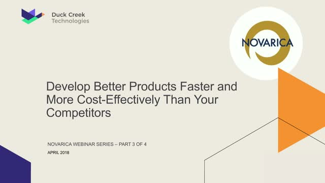 Develop Better Products Faster and More Cost-Effectively Than Your Competitors