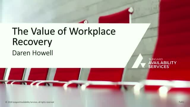 The Value of Workplace Recovery