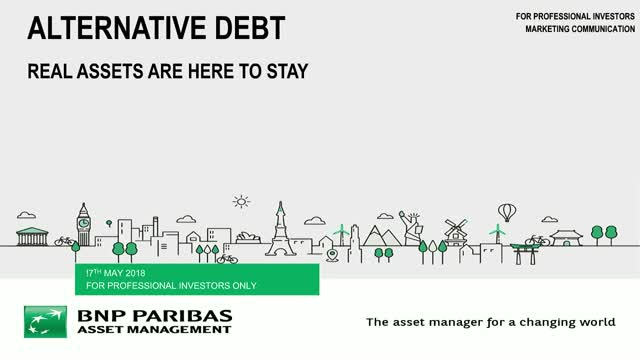 Alternative Debt – Real Assets are here to stay
