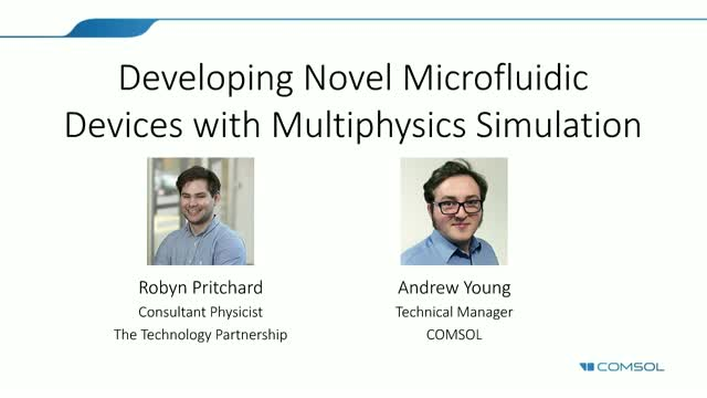 Developing Novel Microfluidic Devices with Multiphysics Simulation
